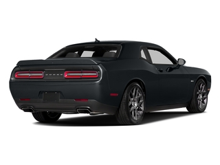 Maximum Steel Metallic Clearcoat 2016 Dodge Challenger Pictures Challenger Coupe 2D R/T V8 photos rear view