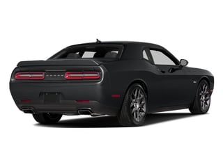 Granite Pearlcoat 2016 Dodge Challenger Pictures Challenger Coupe 2D R/T Plus V8 photos rear view