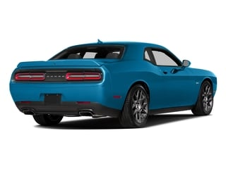B5 Blue Pearlcoat 2016 Dodge Challenger Pictures Challenger Coupe 2D R/T Plus V8 photos rear view