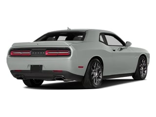 Bright White Clearcoat 2016 Dodge Challenger Pictures Challenger Coupe 2D R/T Plus V8 photos rear view