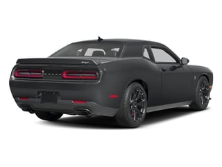 Granite Pearlcoat 2016 Dodge Challenger Pictures Challenger Coupe 2D SRT Hellcat V8 Supercharged photos rear view