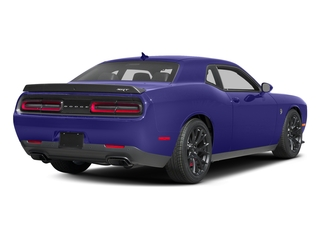 Plum Crazy Pearlcoat 2016 Dodge Challenger Pictures Challenger Coupe 2D SRT Hellcat V8 Supercharged photos rear view