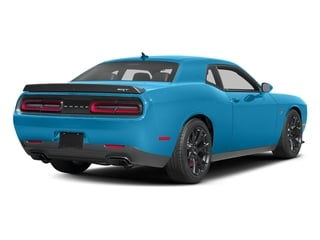 B5 Blue Pearlcoat 2016 Dodge Challenger Pictures Challenger Coupe 2D SRT Hellcat V8 Supercharged photos rear view