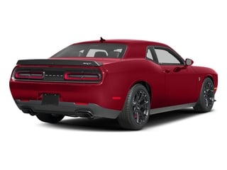 Redline Red Tricoat Pearl 2016 Dodge Challenger Pictures Challenger Coupe 2D SRT Hellcat V8 Supercharged photos rear view