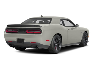 Ivory White Tri-Coat Pearl 2016 Dodge Challenger Pictures Challenger Coupe 2D SRT Hellcat V8 Supercharged photos rear view