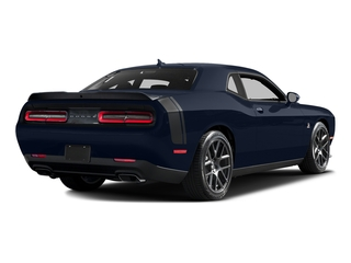 Jazz Blue Pearlcoat 2016 Dodge Challenger Pictures Challenger Coupe 2D R/T Scat Pack V8 photos rear view