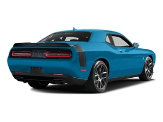 B5 Blue Pearlcoat 2016 Dodge Challenger Pictures Challenger Coupe 2D R/T Scat Pack V8 photos rear view