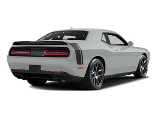 Bright White Clearcoat 2016 Dodge Challenger Pictures Challenger Coupe 2D R/T Scat Pack V8 photos rear view