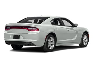 Bright White Clearcoat 2016 Dodge Charger Pictures Charger Sedan 4D SE AWD V6 photos rear view