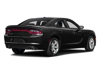 Pitch Black Clearcoat 2016 Dodge Charger Pictures Charger Sedan 4D SE AWD V6 photos rear view