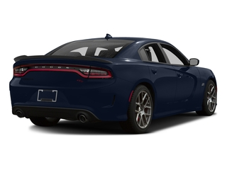 Jazz Blue Pearlcoat 2016 Dodge Charger Pictures Charger Sedan 4D R/T Scat Pack V8 photos rear view