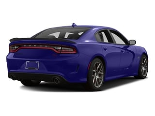 Plum Crazy Pearlcoat 2016 Dodge Charger Pictures Charger Sedan 4D R/T Scat Pack V8 photos rear view