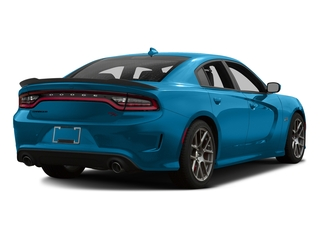 B5 Blue Pearlcoat 2016 Dodge Charger Pictures Charger Sedan 4D R/T Scat Pack V8 photos rear view