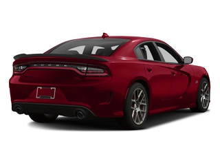 Redline Red Tricoat Pearl 2016 Dodge Charger Pictures Charger Sedan 4D R/T Scat Pack V8 photos rear view