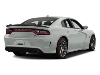 Bright White Clearcoat 2016 Dodge Charger Pictures Charger Sedan 4D R/T Scat Pack V8 photos rear view