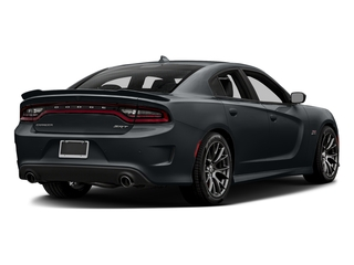 Maximum Steel Metallic Clearcoat 2016 Dodge Charger Pictures Charger Sedan 4D SRT 392 V8 photos rear view
