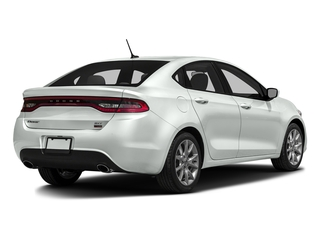 Bright White Clearcoat 2016 Dodge Dart Pictures Dart Sedan 4D Rallye Sport I4 photos rear view