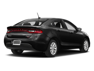 Pitch Black Clearcoat 2016 Dodge Dart Pictures Dart Sedan 4D Aero I4 Turbo photos rear view