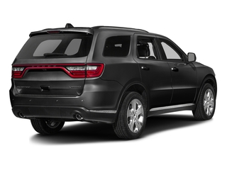 Brilliant Black Crystal Pearlcoat 2016 Dodge Durango Pictures Durango Utility 4D SXT 2WD V6 photos rear view