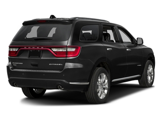 Brilliant Black Crystal Pearlcoat 2016 Dodge Durango Pictures Durango Utility 4D Citadel AWD V6 photos rear view