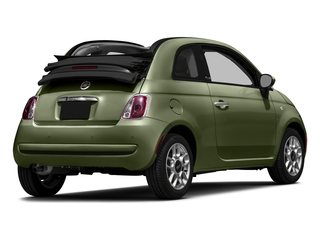 Verde Oliva (Olive Green) 2016 FIAT 500c Pictures 500c Convertible 2D Pop I4 photos rear view