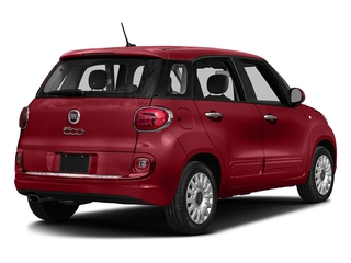 Rosso (Red) 2016 FIAT 500L Pictures 500L Hatchback 5D L Pop I4 Turbo photos rear view