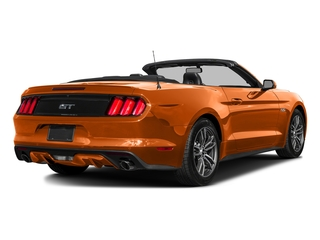Competition Orange 2016 Ford Mustang Pictures Mustang Convertible 2D GT Premium V8 photos rear view