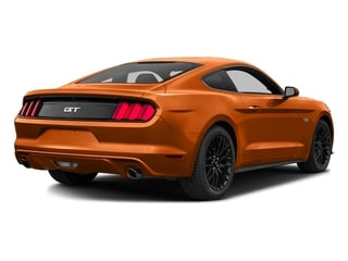 Competition Orange 2016 Ford Mustang Pictures Mustang Coupe 2D GT V8 photos rear view
