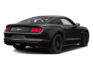 Shadow Black 2016 Ford Mustang Pictures Mustang Coupe 2D GT V8 photos rear view