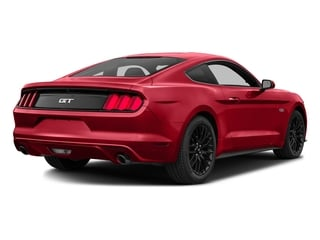 Race Red 2016 Ford Mustang Pictures Mustang Coupe 2D GT V8 photos rear view