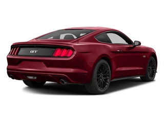 Ruby Red Metallic Tinted Clearcoat 2016 Ford Mustang Pictures Mustang Coupe 2D GT V8 photos rear view