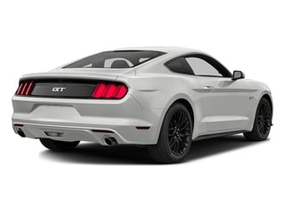 Oxford White 2016 Ford Mustang Pictures Mustang Coupe 2D GT V8 photos rear view
