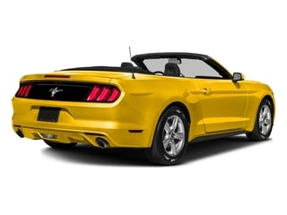 Triple Yellow Tri-Coat 2016 Ford Mustang Pictures Mustang Convertible 2D V6 photos rear view