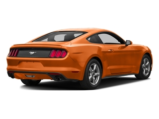 Competition Orange 2016 Ford Mustang Pictures Mustang Coupe 2D EcoBoost Premium I4 Turbo photos rear view