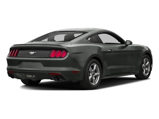 Magnetic Metallic 2016 Ford Mustang Pictures Mustang Coupe 2D EcoBoost Premium I4 Turbo photos rear view