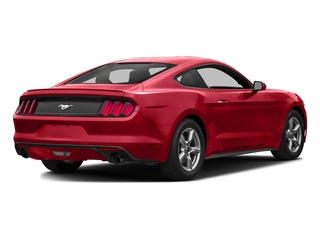Race Red 2016 Ford Mustang Pictures Mustang Coupe 2D EcoBoost Premium I4 Turbo photos rear view