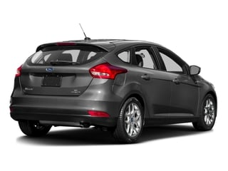 Ingot Silver 2016 Ford Focus Pictures Focus Hatchback 5D SE EcoBoost I3 Turbo photos rear view
