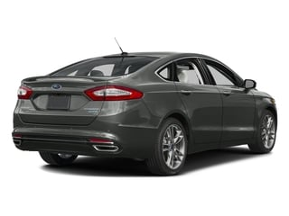 Magnetic 2016 Ford Fusion Pictures Fusion Sedan 4D Titanium AWD I4 Turbo photos rear view