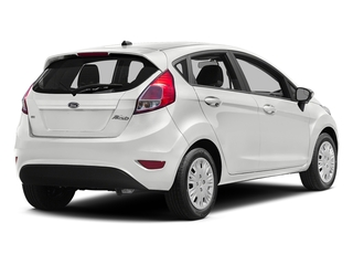 White Platinum Metallic Tri-Coat 2016 Ford Fiesta Pictures Fiesta Hatchback 5D SE EcoBoost I3 Turbo photos rear view