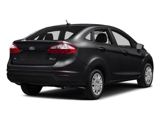 Shadow Black 2016 Ford Fiesta Pictures Fiesta Sedan 4D SE I4 photos rear view