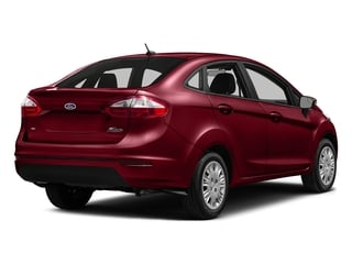 Ruby Red Metallic Tinted Clearcoat 2016 Ford Fiesta Pictures Fiesta Sedan 4D SE I4 photos rear view