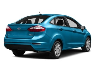 Blue Candy Metallic Tinted Clearcoat 2016 Ford Fiesta Pictures Fiesta Sedan 4D SE I4 photos rear view