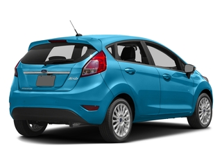 Blue Candy Metallic Tinted Clearcoat 2016 Ford Fiesta Pictures Fiesta Hatchback 5D Titanium I4 photos rear view