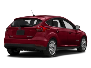 Ruby Red Metallic Tinted Clearcoat 2016 Ford Focus Electric Pictures Focus Electric Hatchback 5D Electric photos rear view