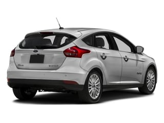 Ingot Silver 2016 Ford Focus Electric Pictures Focus Electric Hatchback 5D Electric photos rear view