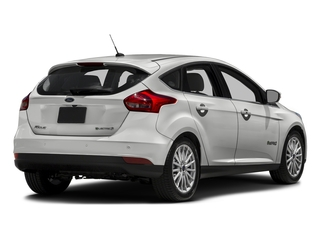 Oxford White 2016 Ford Focus Electric Pictures Focus Electric Hatchback 5D Electric photos rear view