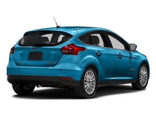 Blue Candy Metallic Tinted Clearcoat 2016 Ford Focus Electric Pictures Focus Electric Hatchback 5D Electric photos rear view