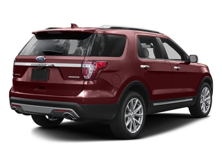 Bronze Fire Metallic Tinted Clearcoat 2016 Ford Explorer Pictures Explorer Utility 4D Limited 2WD V6 photos rear view