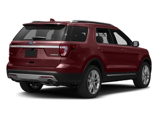Bronze Fire Metallic Tinted Clearcoat 2016 Ford Explorer Pictures Explorer Utility 4D XLT 2WD V6 photos rear view