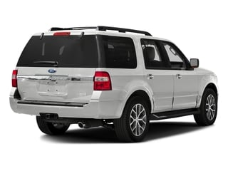 White Platinum Metallic Tri-Coat 2016 Ford Expedition Pictures Expedition Utility 4D XLT 4WD V6 Turbo photos rear view
